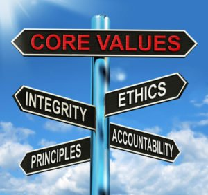 Our Core Values at Diminished Value Method, LLC